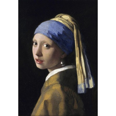 grafika-Puzzle - 12 pieces - XXL Pieces - Vermeer Johannes: The Girl with a Pearl Earring, 1665