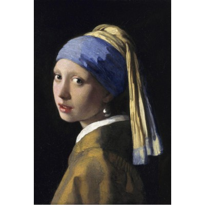 grafika-Puzzle - 100 pieces - Vermeer Johannes: The Girl with a Pearl Earring, 1665