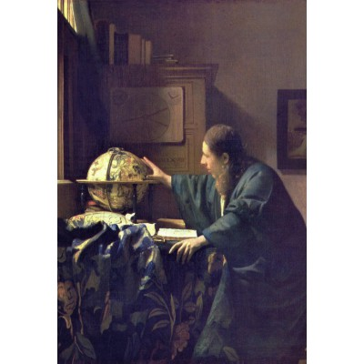 grafika-Puzzle - 12 pieces - XXL Pieces - Vermeer Johannes: The Astronomer, 1668