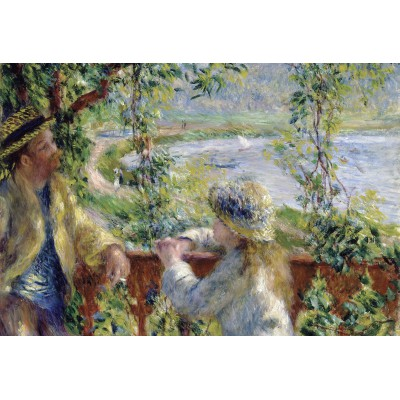 grafika-Puzzle - 12 pieces - XXL Pieces - Renoir Auguste: Near the Lake, 1879
