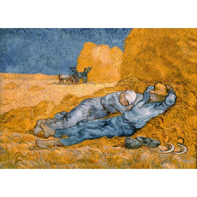 grafika-Puzzle - 24 pieces - Magnetic Pieces - Van Gogh Vincent: La Sieste (d'après Millet), 1890