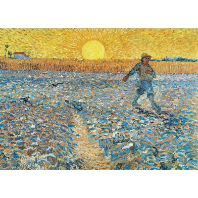 grafika-Puzzle - 24 pieces - Magnetic Pieces - Van Gogh : The Sower, 1888
