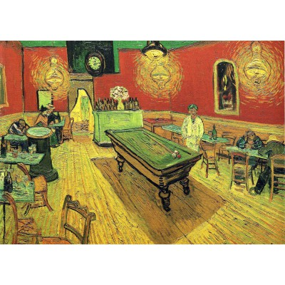 grafika-Puzzle - 24 pieces - Magnetic Pieces - Vincent van Gogh: The Night Cafe, 1888