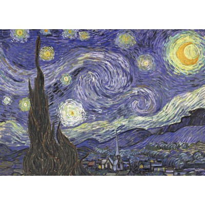 grafika-Puzzle - 24 pieces - Magnetic Puzzles - Vincent van Gogh, 1889