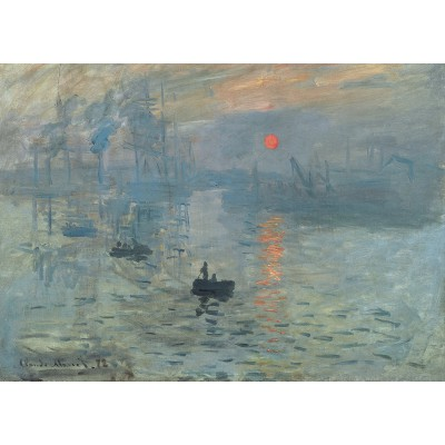 grafika-Puzzle - 24 pieces - Magnetic Pieces - Claude Monet: Impression au Soleil Levant, 1872