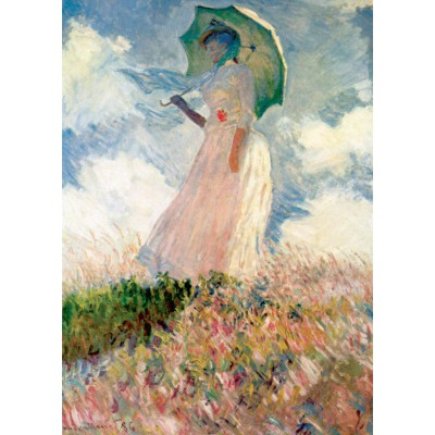grafika-Puzzle - 24 pieces - Magnetic Pieces - Claude Monet: La Femme à l'Ombrelle, 1875