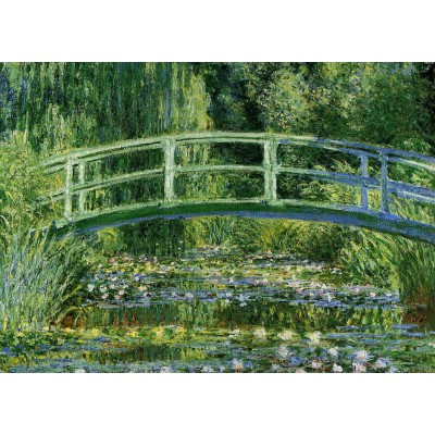 grafika-Puzzle - 24 pieces - Magnetic Pieces - Claude Monet: Water Lilies and the Japanese bridge, 1897-1899
