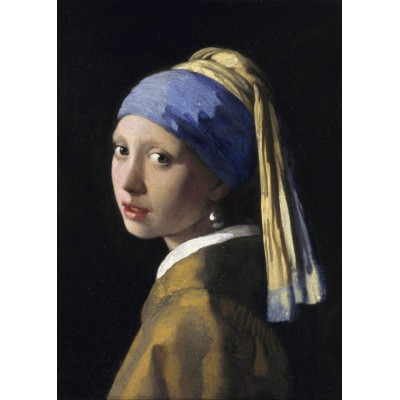 grafika-Puzzle - 24 pieces - Magnetic Pieces - Vermeer Johannes: The Girl with a Pearl Earring, 1665