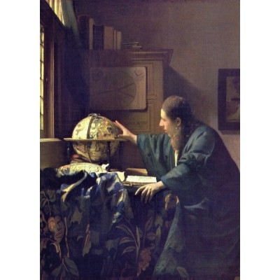 grafika-Puzzle - 24 pieces - Magnetic Pieces - Vermeer Johannes: The Astronomer, 1668
