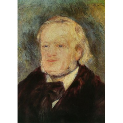 grafika-Puzzle - 24 pieces - Magnetic Pieces - Renoir Auguste: Richard Wagner, 1882