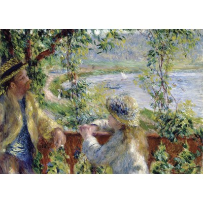grafika-Puzzle - 24 pieces - Magnetic Pieces - Renoir Auguste: Near the Lake, 1879