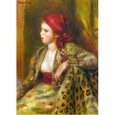 grafika-Puzzle - 24 pieces - Magnetic Pieces - Renoir Auguste: Odalisque, 1895