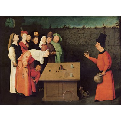 grafika-Puzzle - 300 pieces - Bosch: The Conjurer, 1502