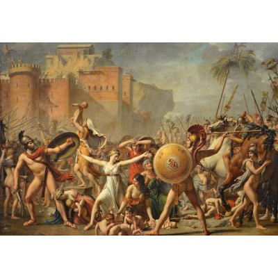 grafika-Puzzle - 100 pieces - Jacques-Louis David: The Intervention of the Sabine Women, 1799