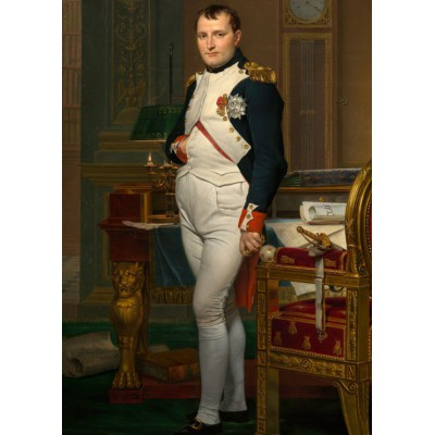 grafika-Puzzle - 24 pieces - Magnetic Pieces - Jacques-Louis David: The Emperor Napoleon in his study at the Tuileries, 1812