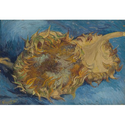 grafika-Puzzle - 12 pieces - XXL Pieces - Van Gogh: Sunflowers, 1887