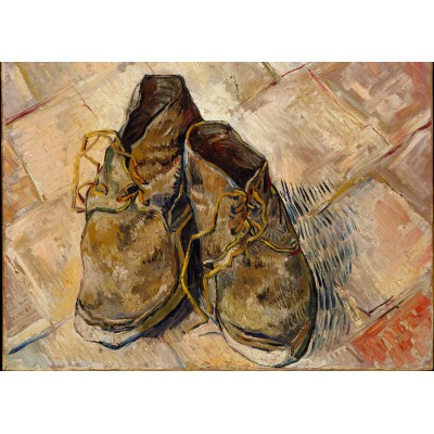 grafika-Puzzle - 24 pieces - Magnetic Pieces - Van Gogh: Shoes, 1888