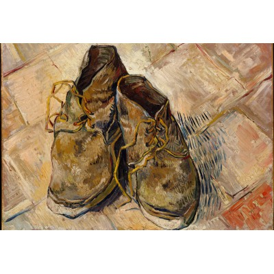 grafika-Puzzle - 12 pieces - XXL Pieces - Van Gogh: Shoes, 1888