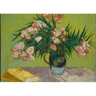 grafika-Puzzle - 24 pieces - Magnetic Pieces - Van Gogh: Oleanders,1888
