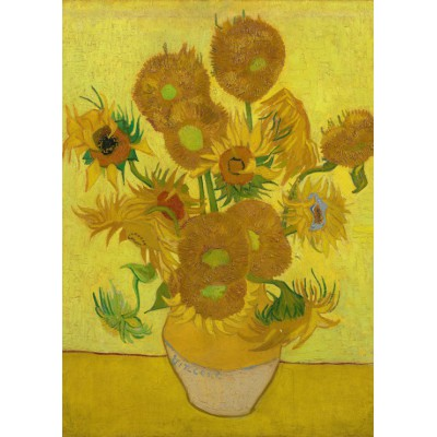 grafika-Puzzle - 24 pieces - Magnetic Pieces - Van Gogh: Sunflowers,1889