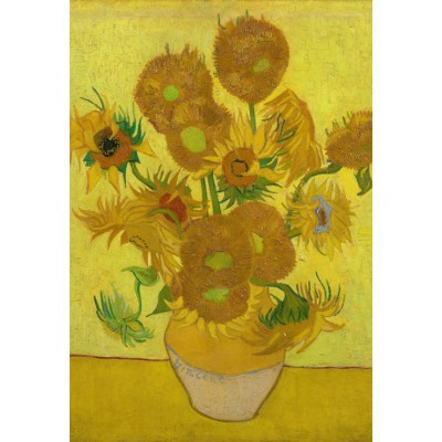 grafika-Puzzle - 12 pieces - XXL Pieces - Van Gogh: Sunflowers,1889