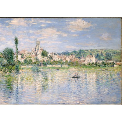 grafika-Puzzle - 24 pieces - Magnetic Pieces - Claude Monet: Vétheuil in Summer, 1880