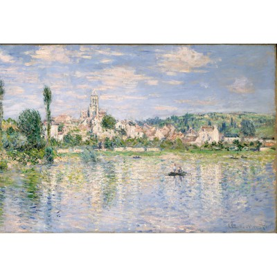 grafika-Puzzle - 12 pieces - XXL Pieces - Claude Monet: Vétheuil in Summer, 1880