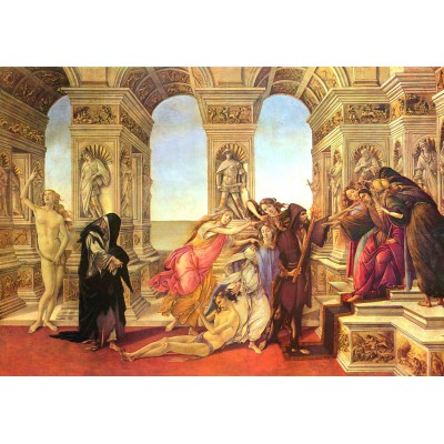 grafika-Puzzle - 100 pieces - Sandro Botticelli: Calumny of Apelles, 1495-1497