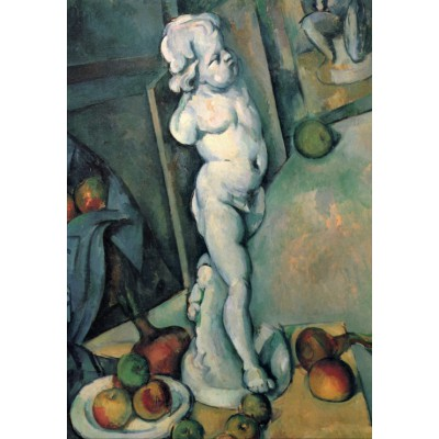 grafika-Puzzle - 100 pieces - Paul Cézanne: Still Life with Plaster Cupid, 1895