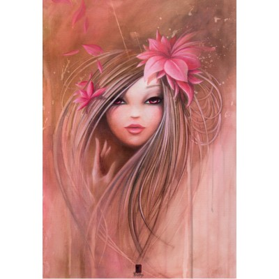 grafika-Puzzle - 100 pieces - Misstigri: Sweet Pinky Girl