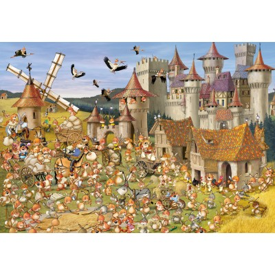 grafika-Puzzle - 100 pieces - François Ruyer