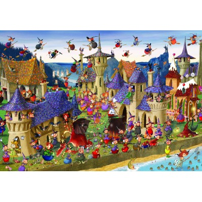 grafika-Puzzle - 100 pieces - François Ruyer: Witches