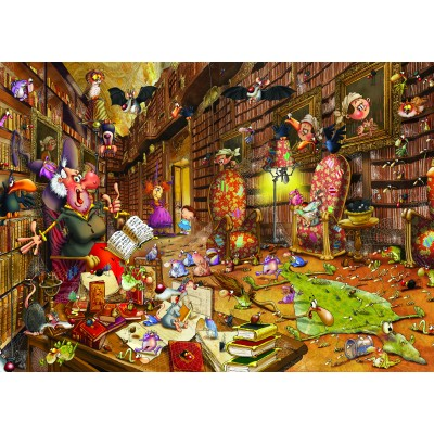 grafika-Puzzle - 24 pieces - Magnetic Pieces - François Ruyer: Witch