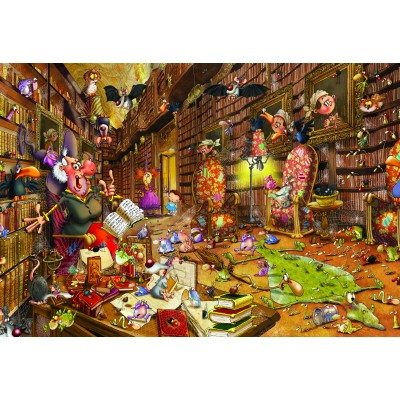grafika-Puzzle - 12 pieces - XXL Pieces - François Ruyer: Witch