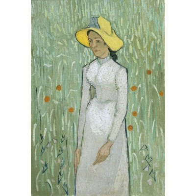 grafika-Puzzle - 12 Teile - XXL Teile - Vincent Van Gogh - Girl in White, 1890