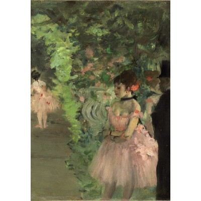 grafika-Puzzle - 100 pieces - Edgar Degas: Dancers Backstage, 1876/1883