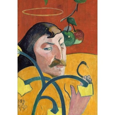 grafika-Puzzle - 100 pieces - Paul Gauguin: Self-Portrait, 1889