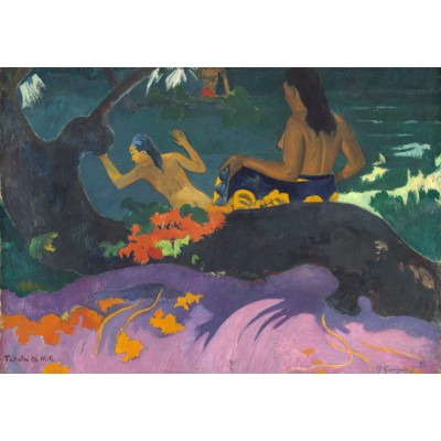 grafika-Puzzle - 100 pieces - Paul Gauguin: Fatata te Miti (By the Sea), 1892