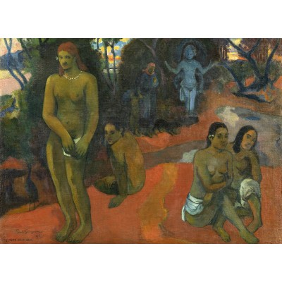 grafika-Puzzle - 300 pieces - Paul Gauguin: Te Pape Nave Nave (Delectable Waters), 1898