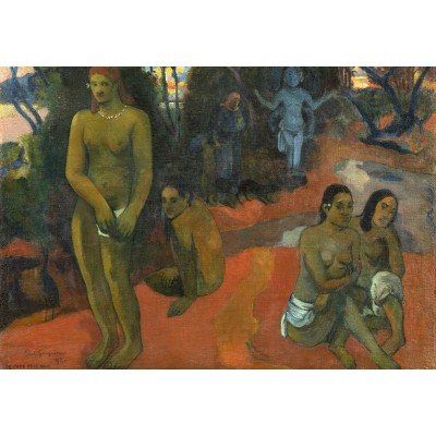 grafika-Puzzle - 100 pieces - Paul Gauguin: Te Pape Nave Nave (Delectable Waters), 1898