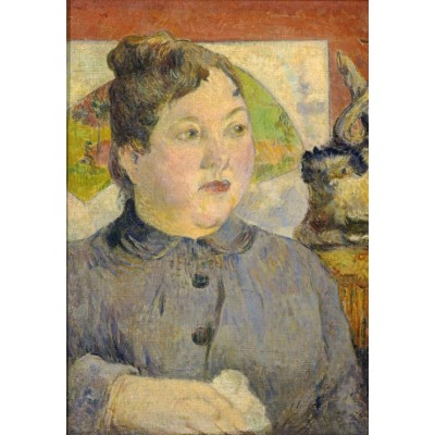 grafika-Puzzle - 100 pieces - Paul Gauguin: Madame Alexandre Kohler, 1887-1888