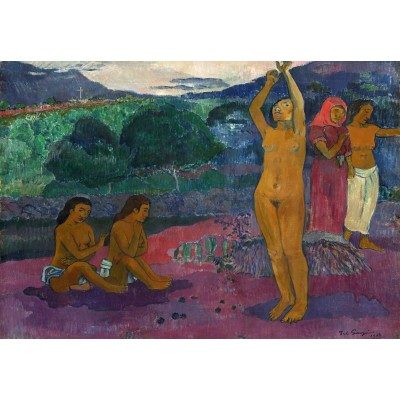 grafika-Puzzle - 100 pieces - Paul Gauguin: The Invocation, 1903