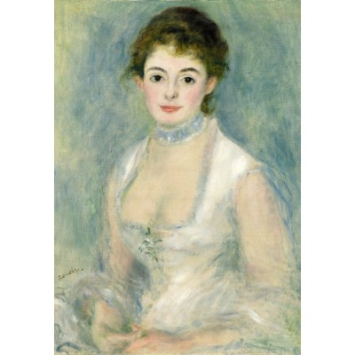 grafika-Puzzle - 100 pieces - Auguste Renoir: Madame Henriot, 1876