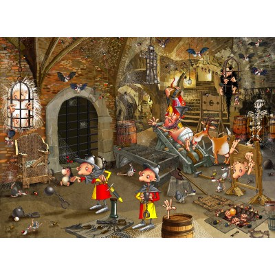 grafika-Puzzle - 300 pieces - François Ruyer: Dungeon