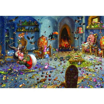 grafika-Puzzle - 100 pieces - François Ruyer: Witch