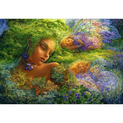 grafika-Puzzle - 100 pieces - Josephine Wall - Moss Maiden