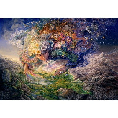 grafika-Puzzle - 100 pieces - Josephine Wall - Breath of Gaia