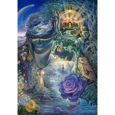 grafika-Puzzle - 100 pieces - Josephine Wall - Key to Eternity