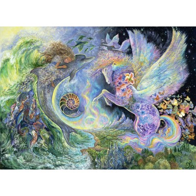 grafika-Puzzle - 300 pieces - Josephine Wall - Magical Meeting