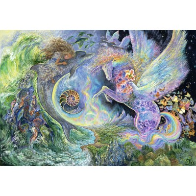 grafika-Puzzle - 100 pieces - Josephine Wall - Magical Meeting
